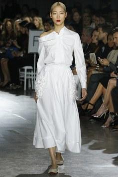 white shirt, zac posen, spring2016