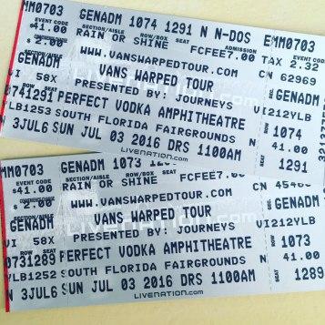 Vans Warped Tour presented by Journeys