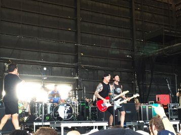 Yellowcard at Vans Warped Tour 2016 at the Perfect Vodka Amphitheater in West Palm Beach, Florida