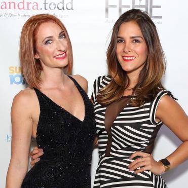 Alexandra Courson & Ana Sanin. Phothos by- Keith Jordan