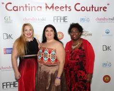 Chandra Hoover, Danielle Campaniello & Angelica Roberts. Photo by- Keith Jordan