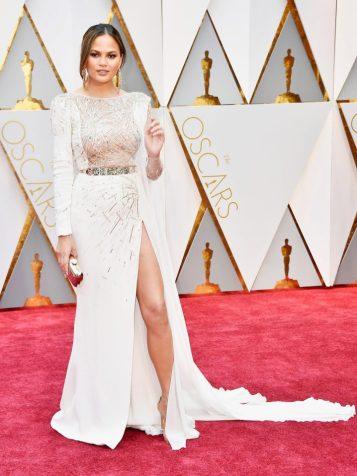 Chrissy Teigen looking like a goddess.