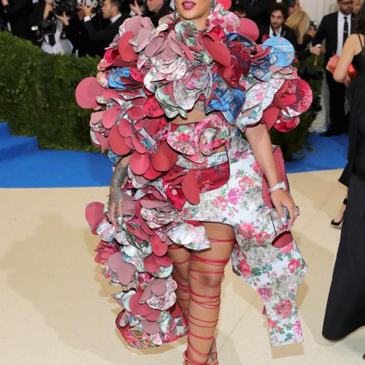 Rihanna in Comme De Garcon