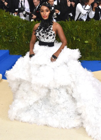 "NEW YORK, NY - MAY 01: Janelle Monae attends the ""Rei Kawakubo/Comme des Garcons: Art Of The In-Between"" Costume Institute Gala at Metropolitan Museum of Art on May 1, 2017 in New York City. (Photo by John Shearer/Getty Images)"