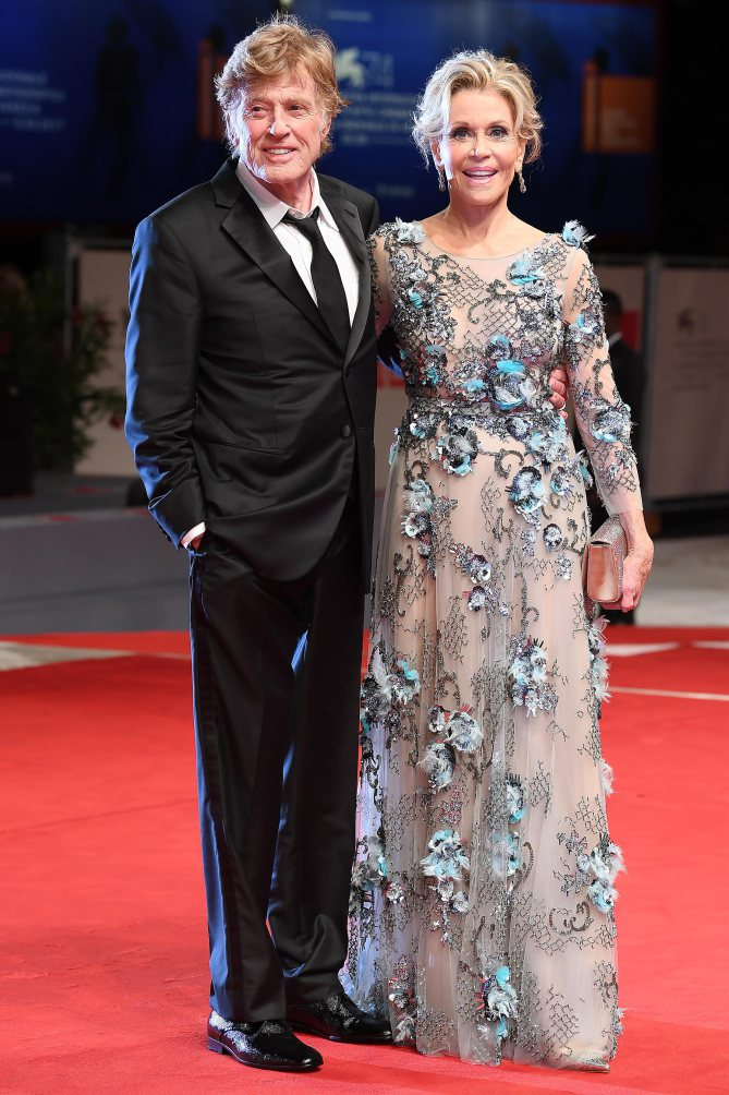 Our Souls At Night Premiere - 74th Venice Film Festival