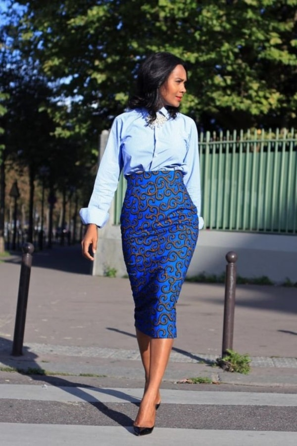 Trendy-Ankara-Print-Pencil-Skirt-Outfits-With-A-Formal-Touch0011