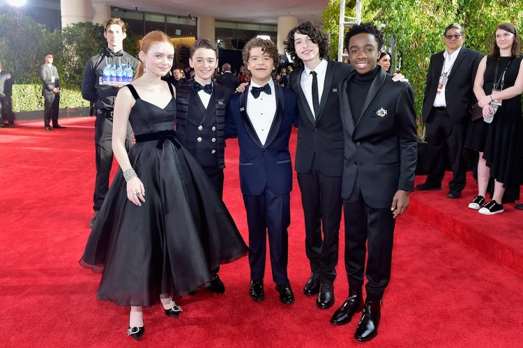 sadie-sink-stranger-things-cast-2018-golden-globe-awards