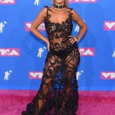 Rita Ora in Jean Paul Gaultier