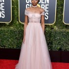 Kiki Layne in custom Dior