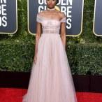 Kiki Layne in custom Dior